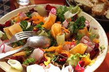 Salade bouquet de légumes Terre et Mer